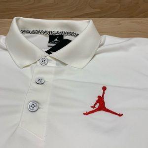 Nike Shirts - Nike Jordan Polo Golf Shirt Dri-FIT Jumpman